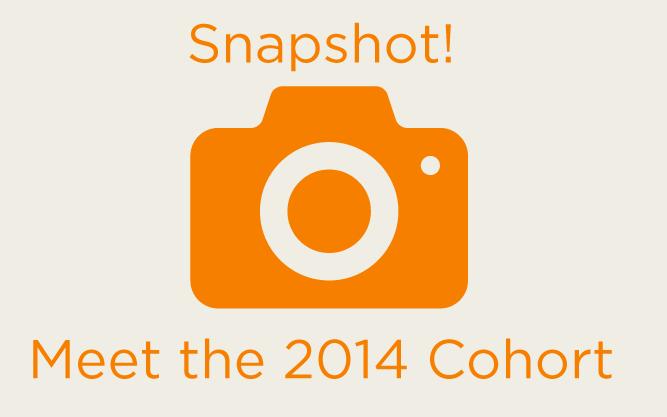 Meet the 2014 Cohort